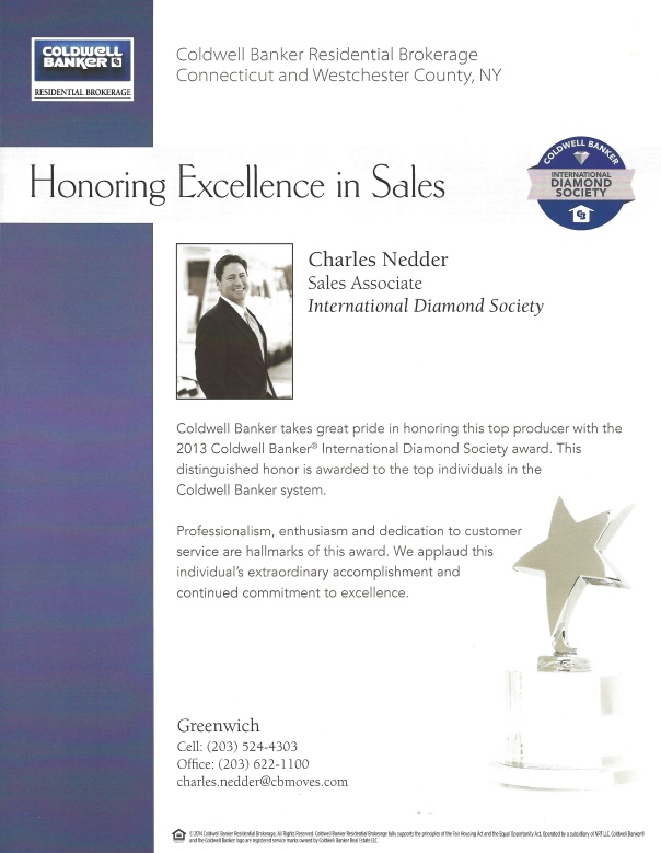 Charles Nedder - Excellence in Sales - International Diamond Society