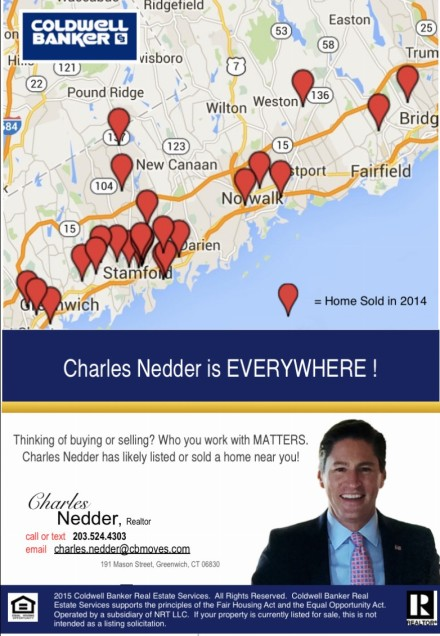 Charles Nedder is EVERYWHERE !